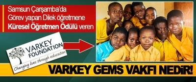 Samsun Çarşamba'da görev yapan Dilek öğretmene Küresel Öğretmen Ödülü veren Varkey Gems Vakfı nedir!