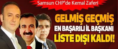 Samsun CHP'de Kemal Zeybek zaferi!