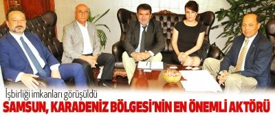 Samsun, Karadeniz Bölgesi'nin En Önemli Aktörü