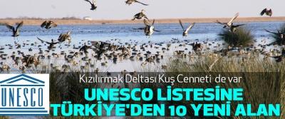 Samsun Kızılırmak Kuş Cenneti Unesco'da