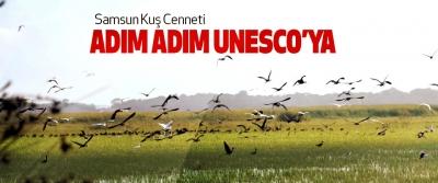 Samsun Kuş Cenneti Adım Adım Unesco'ya