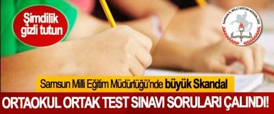 Samsun Milli Eğitim Müdürlüğü'nde büyük Skandal