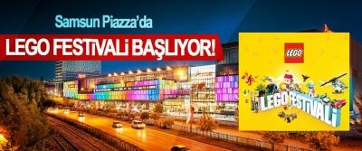 Samsun Piazza'da LEGO Festivali Başlıyor!