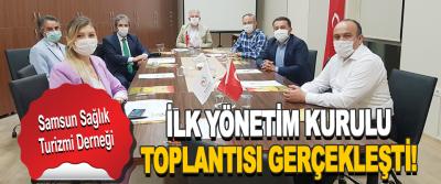 Samsun Sağlık Turizmi Derneği İlk Yönetim Kurulu Toplantısı Gerçekleşti!