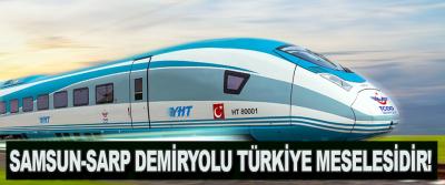 Samsun-sarp Demiryolu Türkiye Meselesidir!