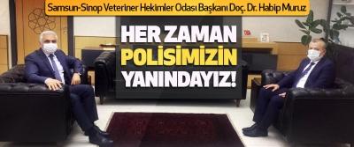 Samsun-Sinop Veteriner Hekimler Odası Başkanı Doç. Dr. Habip Muruz