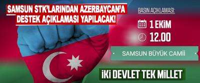 Samsun STK'larından Azerbaycan'a Destek Açıklaması Yapılacak!