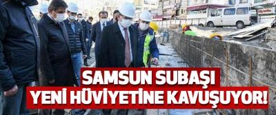 Samsun Subaşı Meydanı Hüviyete Kavuşuyor!