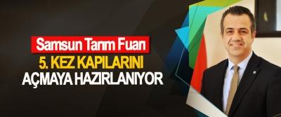 Samsun Tarım Fuarı 5. kez kapılarını açmaya hazırlanıyor