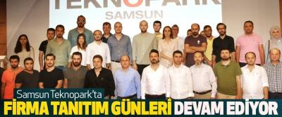 Samsun Teknopark'ta firma tanıtım günleri devam ediyor