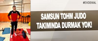 Samsun Tohm Judo Takımında Durmak Yok!