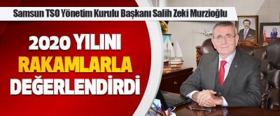 Samsun TSO Başkanı Murzioğlu 2020 Yılını Rakamlarla Değerlendirdi