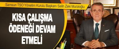 Samsun TSO Yönetim Kurulu Başkanı Salih Zeki Murzioğlu