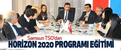 Samsun TSO'dan Horizon 2020 Programı Eğitimi