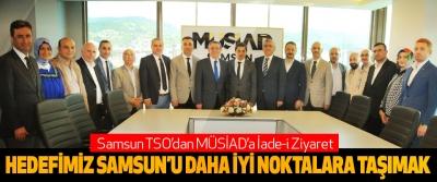 Samsun TSO'dan MÜSİAD'a İade-i Ziyaret
