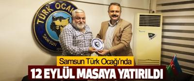 Samsun Türk Ocağı'nda 12 Eylül Masaya Yatırıldı