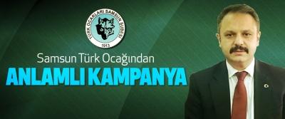Samsun Türk Ocağından Anlamlı Kampanya