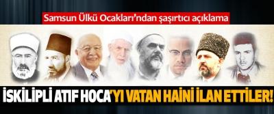 Samsun Ülkü Ocakları'ndan şaşırtıcı açıklama