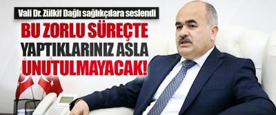 Samsun Valisi Dr. Zülkif Dağlı Sağlıkçılara Seslendi