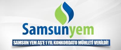 Samsun Yem Aş'e 1 Yıl Konkordato Mühleti Verildi!