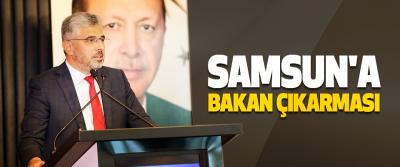 Samsun'a Bakan Çıkarması