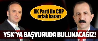 Samsun'da AK Parti ile CHP ortak kararı