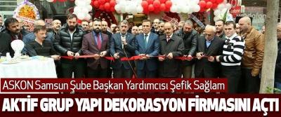 Samsun'da Aktif Yapı Dekorasyon Firması Açıldı