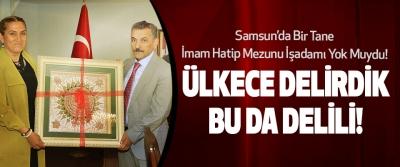 Samsun'da Bir Tane İmam Hatip Mezunu İşadamı Yok Muydu!