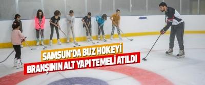 Samsun'da, Buz Hokeyi Branşının Alt Yapı Temeli Atıldı
