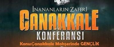 Samsun'da Çanakkale Mahşerinde Gençlik konferansı