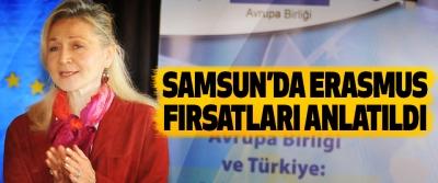 Samsun'da Erasmus Fırsatları Anlatıldı