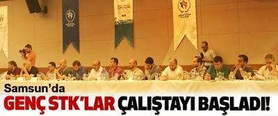 Samsun'da Genç STK'lar çalıştayı başladı!