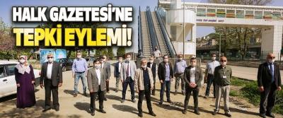 Samsun'da Halk Gazetesi'ne Tepki Eylemi!