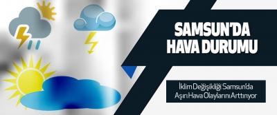Samsun'da Hava Durumu