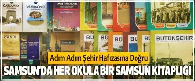 Samsun'da Her Okula Bir Samsun Kitaplığı