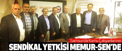 Samsun'da Kamu Çalışanlarının Sendikal Yetkisi Memur-Sen'de