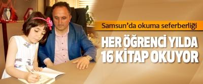 Samsun'da okuma seferberliği