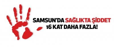 Samsun'da Sağlıkta Şiddet 16 Kat Daha Fazla!