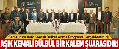 Samsunda Âşık Kemali Bülbül Anma Programı Gerçekleştirildi