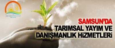 Samsun'da Tarımsal Yayım Ve Danışmanlık Hizmetleri