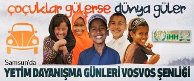 Samsun'da Yetim Dayanışma Günleri Vosvos Şenliği