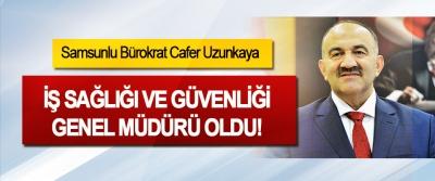 Samsunlu Bürokrat Cafer Uzunkaya İş Sağlığı Ve Güvenliği Genel Müdürü Oldu!