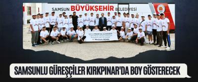 Samsunlu Güreşçiler Kırkpınar'da Boy Gösterecek