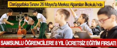 Samsunlu Öğrencilere 8 Yıl Ücretsiz Eğitim Fırsatı
