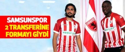 Samsunspor 2 Transferine Formayı Giydi