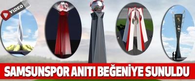 Samsunspor Anıtı Beğeniye Sunuldu