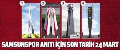 Samsunspor Anıtı İçin Son Tarih 24 Mart