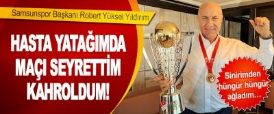 Samsunspor Başkanı Robert Yüksel Yıldırım