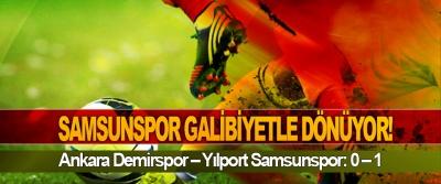 Samsunspor galibiyetle dönüyor!