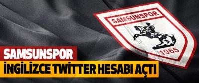 Samsunspor, İngilizce Twitter Hesabı Açtı